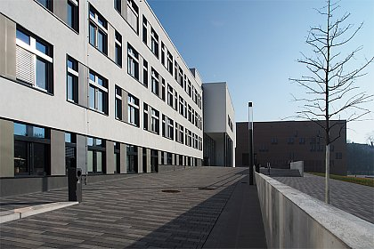 Department building on Steintorcampus